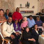 Sister Vilma joins the home-based group at the home of group leader Teresa Tobias.